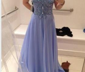 Prom Dress2015, Formal Dresses, Evening Dresses, Party Dresses,Floor Length Prom Dress,Chiffon Prom Dress,Custom Evening Dresses On Sale