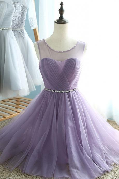 Short Prom Dress, Cap Sleeves Homecoming Dresses, Prom Party Dress, Cheap Short Homecoming Dress,Tulle Prom Dress,Lovely Homecoming Dress,