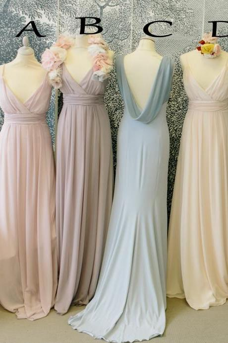 Hot Sale Bridesmaid Dresses,Long Bridesmaid Dresses,Sweetheart Bridesmaid Dresses,Spaghetti Straps Bridesmaid Dresses,Chiffon Bridesmaid Dresses,Cheap Bridesmaid Dresses ,