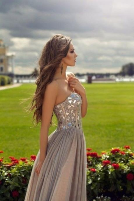 High Quality Prom Dress,Charming Prom Dress,Sweetheart Prom Dress ,A Line Long Prom Dress,Tulle Prom Dress,Beading Evening Dress,Dress For Prom,Formal Dress 2016