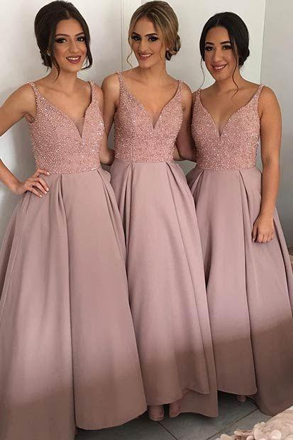 Custom Made Bridesmaid Dress,New Style Bridesmaid Dress,Beading Bridesmaids Dresses,Bridesmaids Dresses,High Quality Wedding Party Dress,Long Bridesmaids Dresses,Charming Prom Dress