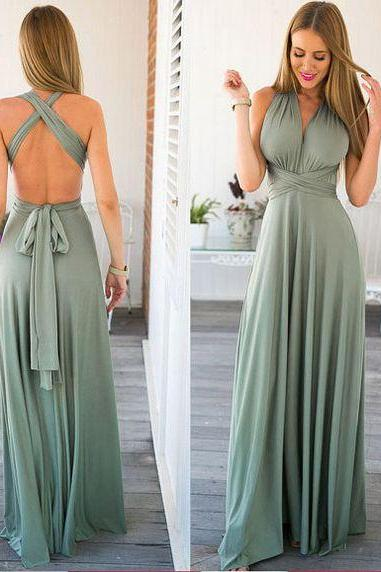 Custom Made Prom Dress,Sexy Prom Dress,Satin Evening Dress,Halter Prom Dress,BacklessEvening Dress,Formal Party Dress,Homecoming Prom Dress