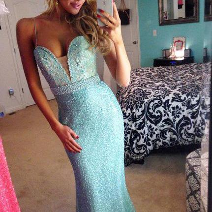 High Quality Custom Made Formal Dress,Sexy Strapless Prom Dress,Sequined Sweetheart Evening Dress,Prom Dress 2015,Long Evening Gowns,Mermaid Prom Dresses